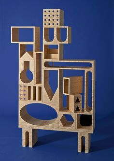 """Studio E.O. """"Room"""" Cabinetry -- An Abode For Your Belongings. http://www.selectism.com/2014/12/19/room-abodes-belongings-erik-olovsson-kyuhyung-cho/"""