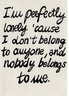 and it's perfectly beautiful to just be ok alone :)