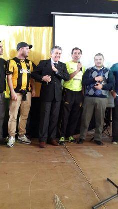 Fernando Morena y Obdulio Trasante, grandes glorias del Club, también están presentes en el Encuentro de Peñas