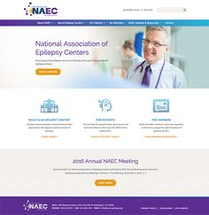 Web Design by Windmill Design for National Association of Epilepsy Centers