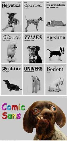Fonty, czcionki, psia mać...
