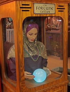 The Fortune Teller....Zoltar's wife perhaps?