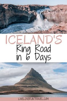 The perfect 6 day Iceland itinerary for a Ring Road road trip. #iceland | #ringroad | top things to do in Iceland | Iceland travel | Iceland itinerary | Iceland things to do in | Iceland travel summer | Iceland summer itinerary | 6 days in Iceland | one week in Iceland | Iceland one week itinerary | Iceland in 6 days | Iceland Ring Road itinerary | Iceland travel tips | Iceland travel guide | best photo locations in Iceland | what to do in Iceland | Iceland road trip itinerary Iceland Travel Tips, Europe Travel Tips, Travel Guides, Travel Destinations, European Destination, European Travel, Reykjavik Iceland, Travel Themes, Cruises