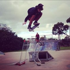 Big G Ollieing Over a Trolley  #ollie #skatepark #skateboarding #skating #skate #trolley #skatesessions #ramps #skatetricks #skatephotos #skatephoto #skatefootage