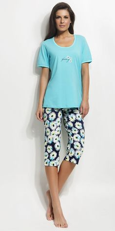 Ladies Pyjama 100% Cotton | Homewear| Vamp! Pajamas Women, Ss 15, Bermuda Shorts, Lady, Natural, Cotton, Collection, Fashion, Moda
