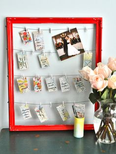 Wedding Seat Number Organizer by HeartsongFineArt on Etsy, $70.00