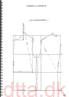 SYSTEM DTTA: PAGE 129 | Tailoring - patternmaking, cutting and sewing | THE DESIGN AND TECHNICAL TAILORING ACADEMY | TILSKÆRERAKADEMIET I KØBENHAVN (KBH)