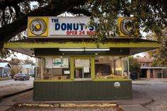americanroads: The Donut St. Morgan City, Donut Shape, Homemade Donuts, Our Town, Left Alone, Photo Diary, Donut Recipes, Tray Bakes, United States