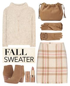 """""""Fall Sweater"""" by rasa-j ❤ liked on Polyvore featuring tarte, MARC CAIN, Tom Ford, Franco Sarto, Burberry, Lana, womensFashion, fallsweaters, Fall2016 and autumn2016"""