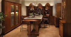 Southern Reserve Wine Room | Wood-Mode | Fine Custom Cabinetry
