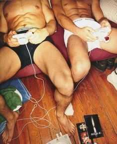 Ha! They didn't get abs and legs like that by sitting playing video games all day. But good effort men, trying to convince girls that gaming is sexy.