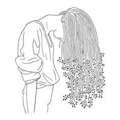 line drawings drawing simple flowers minimalist labyrinth lost sketches indie easy flower insta instagram