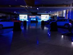 Here is an event we organized in Madrid for the presentation of two new Mercedes-Benz models