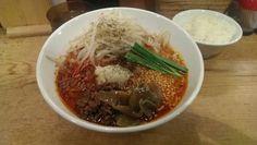 中野ほおずき。スタミナ担々麺。