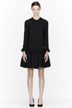 emma watson's dress...CHLOE Black Dahlia Embossed Dress