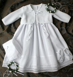 Taufkleider - Taufkleid, Taufset 4-tlg., Baby* Mädchen, Gr. 56-8 - ein Designerstück von TaufkleiderKinderlieb bei DaWanda
