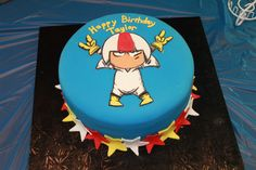Children's Birthday Cakes - Kick Buttowski birthday cake