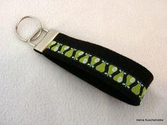 Schlüsselanhänger Schlüsselband, braun, Frösche von kleine Kuschelrobbe auf DaWanda.com