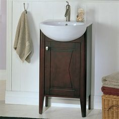 "Fairmont Designs 20"" Lifestyle Collection Bowtie Vanity Combo - Espresso"