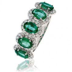 princess cut emerald ring - Google Search