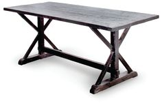 """TRESTLE DINING TABLE 