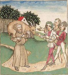 Antonius <von Pforr> Buch der Beispiele der alten Weisen — Oberschwaben, um 1475 Cod. Pal. germ. 466 Folio 155r