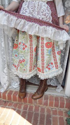 Russian Gypsy Victorian Bloomers  Mori Girl by BerthaLouiseDesigns, #mori, #morikei, #forestgirl