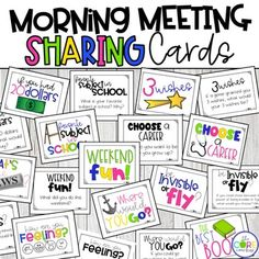Why is Morning Meeting Magical? Morning meeting is an engaging way to start each day and an easy way to build a strong classroom community. Teachers and students sit in a circle for an organized start-of-day activity. A morning m… Classroom Behavior, First Grade Classroom, Kindergarten Classroom, Classroom Management, Behavior Management, Future Classroom, Classroom Decor, Classroom Meeting, Class Management