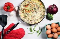 Bone Broth Protein Veggie Frittata Recipe