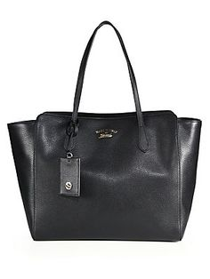 Gucci Gucci Swing Large Leather Tote