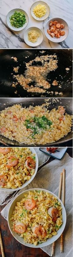 #Ginger #Garlic #Shrimp #Fried #Rice, recipe by the Woks of Life