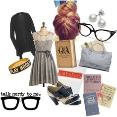 Librarian Chic, created by #lizz-m