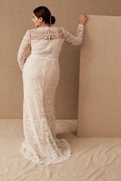 Tadashi Shoji Didion Gown - BHLDN Wedding Giveaways, Evening Dresses Plus Size, Tadashi Shoji, Bhldn, Bridal Outfits, Ribbon Embroidery, Wedding Gowns, Dream Wedding, Tulle
