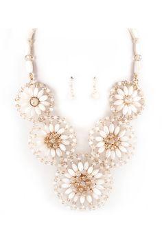 Ivory Marigold Necklace