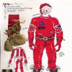 Santa Space Suit