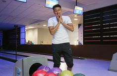 Jesse Lingard Photos - Jesse Lingard of England enjoys some bowling during the England media access at on June 2018 in Saint Petersburg, Russia. - England Media Access - 2018 FIFA World Cup Russia Petersburg Russia, Saint Petersburg, Jesse Lingard, Man United, Fifa World Cup, Football Soccer, Manchester United, Bowling, Peeps