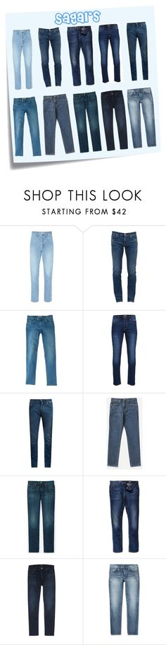 """""""My Jean's"""" by sagaltheophilmarak on Polyvore featuring Post-It, doublet, Dolce&Gabbana, MANGO MAN, Only & Sons, Everlane, Uniqlo, River Island, Citizens of Humanity and Yves Saint Laurent"""