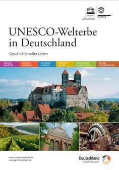 brochuere_unesco_a5_dt.pdf Bts, Kirchen, World Heritage Sites, Palace, Germany, Mansions, History, House Styles, Life