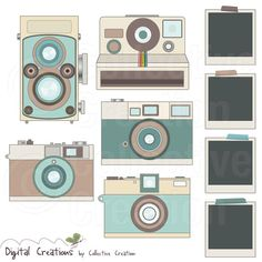 Retro Camera Digital Clip Art Clipart Set 2  by CollectiveCreation, $5.20 (Letter Head)  https://www.etsy.com/listing/126083412/retro-camera-digital-clip-art-clipart?ref=sr_gallery_7&ga_search_query=digital+camera+clipart&ga_search_type=all&ga_view_type=gallery