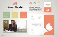 Visual identity / branding for AG on Behance
