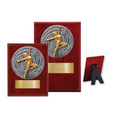 Dance Female Wood Plaque - 2 Sizes Basketball Trophies, Basketball Awards, Sports Awards, Bowling Trophy, Tennis Trophy, Dance Awards, Gymnastics Girls, Racquet Sports, Wood Plaques