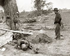 When Alexander Gardner arrived on the bloody Antietam battlefield in 1862, with his cumbersome photography equipment, he set out to do something that no one had ever done. It was the first time a photographer attempted to document a battlefield before the dead had been cleared away. It was unclear exactly what would become of these incredibly detailed images soldiers burying the dead and bodies zig-zagging across dry fields. At that point in time, newspapers could not yet print photographs.
