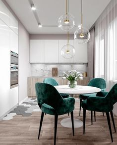 """ДИЗАЙН ИНТЕРЬЕРА И ДЕКОР on Instagram: """"Что в интерьере этой кухни вам нравится больше всего? #dom_tvoej_mechty_кухня Автор: @design.torba"""""""