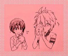 和泉一織 七瀬陸 Drawing Sketches, Drawings, Nanami, Manga, Cute, Pictures, Anime Boys, Learning, Sexy