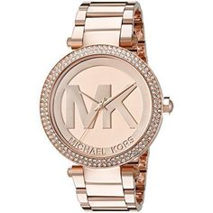 NEW Michael Kors Watches Stainless Steel Rose Gold Watch For Women Unique Gift  #MichaelKors #Luxury