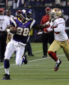 3a2b28eab Adrian Peterson of Minnesota Vikings