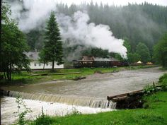 Steam Train on Vaser Valley Felder, Wonders Of The World, British, Train, River, Country, Google, Style, Love