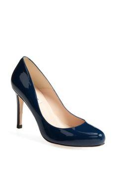 L.K. BENNETT 'STILA' PATENT PUMP. #l.k.bennett #shoes #