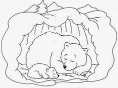 Hibernating Bear Coloring Pages Free - Printable Coloring Pages Coloring Pages For Grown Ups, Heart Coloring Pages, Preschool Coloring Pages, Animal Coloring Pages, Free Printable Coloring Pages, Free Coloring Pages, Coloring Sheets, Adult Coloring, Coloring Books