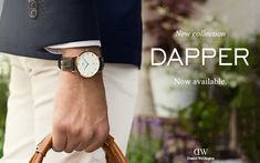 The brand new Dapper Collection by Daniel Wellington is now available on www.danielwellington.com!